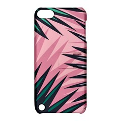 Graciela Detail Petticoat Palm Pink Green Apple Ipod Touch 5 Hardshell Case With Stand