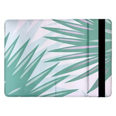 Graciela Detail Petticoat Palm Pink Green Gray Samsung Galaxy Tab Pro 12 2  Flip Case