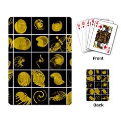 Grasshopper Rhino Spirograph Beautiful Fabulous Playing Card