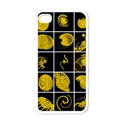 Grasshopper Rhino Spirograph Beautiful Fabulous Apple Iphone 4 Case (white)