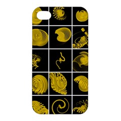 Grasshopper Rhino Spirograph Beautiful Fabulous Apple Iphone 4/4s Premium Hardshell Case