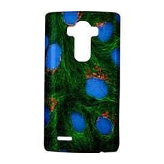 Fluorescence Microscopy Green Blue Lg G4 Hardshell Case