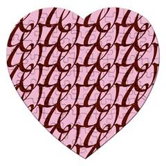 Letter Font Zapfino Appear Jigsaw Puzzle (heart)