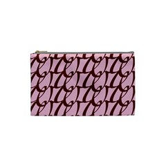Letter Font Zapfino Appear Cosmetic Bag (small)
