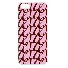 Letter Font Zapfino Appear Apple Iphone 5 Seamless Case (white)