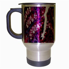 Histology Inc Histo Logistics Incorporated Masson s Trichrome Three Colour Staining Travel Mug (silver Gray)