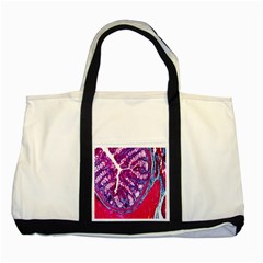 Histology Inc Histo Logistics Incorporated Masson s Trichrome Three Colour Staining Two Tone Tote Bag