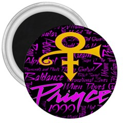 Prince Poster 3  Magnets
