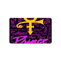 Prince Poster Magnet (name Card)
