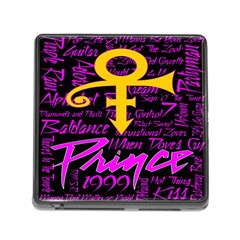 Prince Poster Memory Card Reader (square)