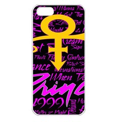 Prince Poster Apple Iphone 5 Seamless Case (white)