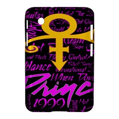 Prince Poster Samsung Galaxy Tab 2 (7 ) P3100 Hardshell Case