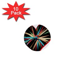 Above & Beyond 1  Mini Buttons (10 Pack)