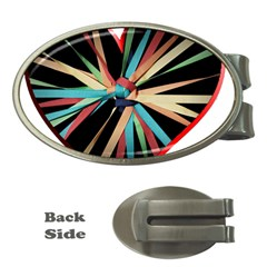 Above & Beyond Money Clips (oval)