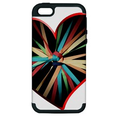 Above & Beyond Apple Iphone 5 Hardshell Case (pc+silicone)