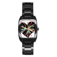 Above & Beyond Stainless Steel Barrel Watch