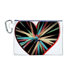 Above & Beyond Canvas Cosmetic Bag (m)