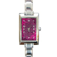 Above & Beyond Sticky Fingers Rectangle Italian Charm Watch