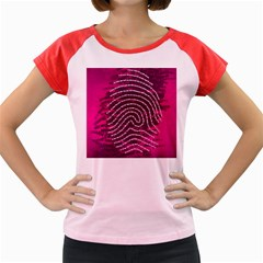 Above & Beyond Sticky Fingers Women s Cap Sleeve T Shirt