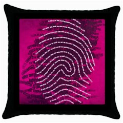 Above & Beyond Sticky Fingers Throw Pillow Case (black)