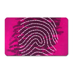 Above & Beyond Sticky Fingers Magnet (rectangular)