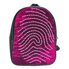 Above & Beyond Sticky Fingers School Bag (large)