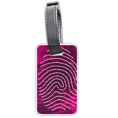 Above & Beyond Sticky Fingers Luggage Tags (one Side)