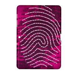 Above & Beyond Sticky Fingers Samsung Galaxy Tab 2 (10 1 ) P5100 Hardshell Case