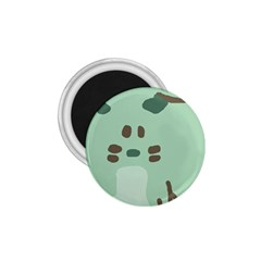Lineless Background For Minty Wildlife Monster 1 75  Magnets