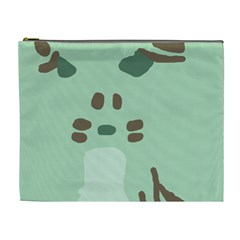 Lineless Background For Minty Wildlife Monster Cosmetic Bag (xl)