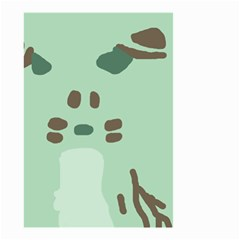 Lineless Background For Minty Wildlife Monster Small Garden Flag (two Sides)