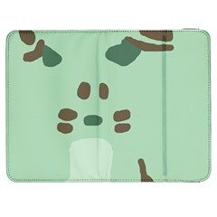 Lineless Background For Minty Wildlife Monster Samsung Galaxy Tab 7  P1000 Flip Case