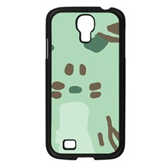 Lineless Background For Minty Wildlife Monster Samsung Galaxy S4 I9500/ I9505 Case (black)