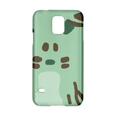 Lineless Background For Minty Wildlife Monster Samsung Galaxy S5 Hardshell Case