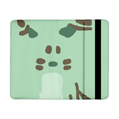 Lineless Background For Minty Wildlife Monster Samsung Galaxy Tab Pro 8 4  Flip Case