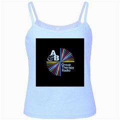 Above & Beyond  Group Therapy Radio Baby Blue Spaghetti Tank