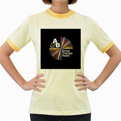 Above & Beyond  Group Therapy Radio Women s Fitted Ringer T Shirts