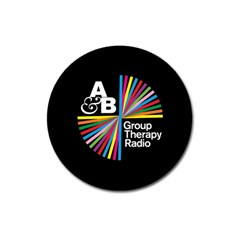 Above & Beyond  Group Therapy Radio Magnet 3  (round)
