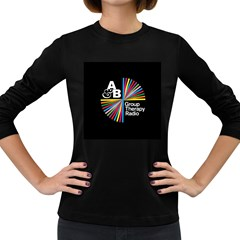 Above & Beyond  Group Therapy Radio Women s Long Sleeve Dark T Shirts