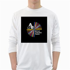 Above & Beyond  Group Therapy Radio White Long Sleeve T Shirts