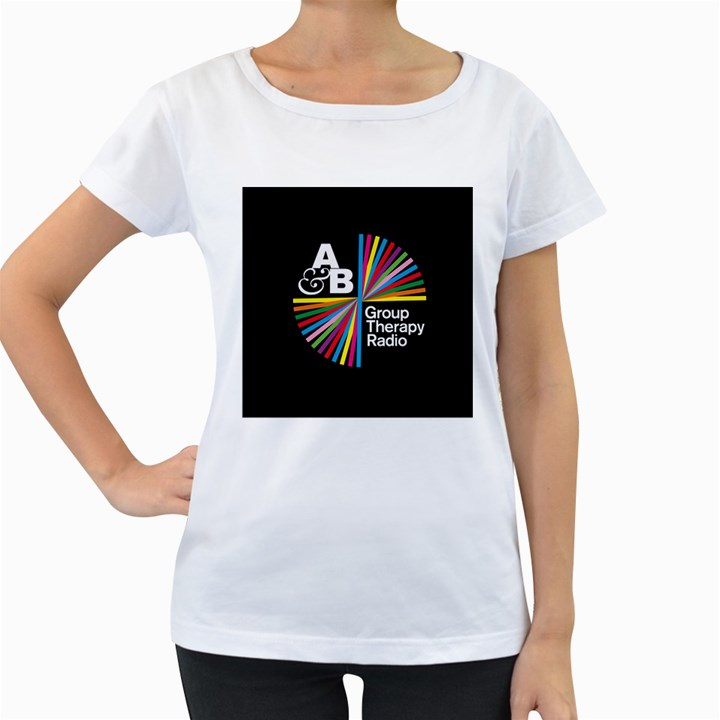 Above & Beyond  Group Therapy Radio Women s Loose-Fit T-Shirt (White)