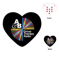 Above & Beyond  Group Therapy Radio Playing Cards (heart)