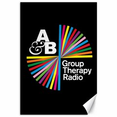 Above & Beyond  Group Therapy Radio Canvas 12  X 18