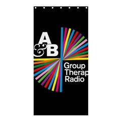 Above & Beyond  Group Therapy Radio Shower Curtain 36  X 72  (stall)