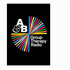 Above & Beyond  Group Therapy Radio Large Garden Flag (two Sides)