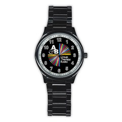 Above & Beyond  Group Therapy Radio Stainless Steel Round Watch
