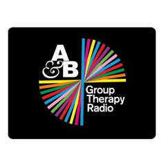 Above & Beyond  Group Therapy Radio Double Sided Fleece Blanket (small)