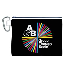 Above & Beyond  Group Therapy Radio Canvas Cosmetic Bag (l)