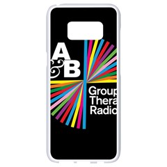 Above & Beyond  Group Therapy Radio Samsung Galaxy S8 White Seamless Case
