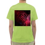 Bassnectar Galaxy Nebula Green T-Shirt Back